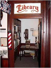The Library at the Ed Jeffers Museum