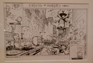 Calvin and Hobbes original artwork, Billy Ireland Library & Museum